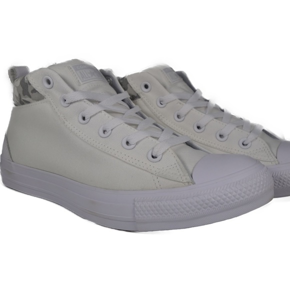 Converse Chuck Taylor All Star Street Mid (White) Boutique